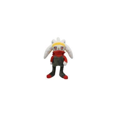 Imagem de Raboot Pelúcia Pokémon 29cm Coelho Evolução Scorbunny Galar