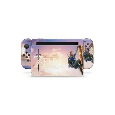 Skin Adesivo para Nintendo Switch - Zelda Breath Of The Wild