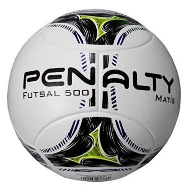 Bola Futsal Matis 500 6 Penalty - Branco Preto b37e4e11a04c9