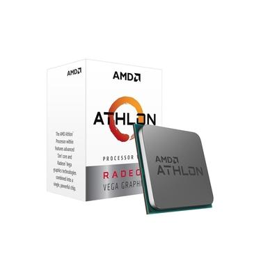 Processador AMD Athlon 3000G 3.5Ghz AM4 Radeon Vega 3 35W - PN # YD3000C6FHBOX