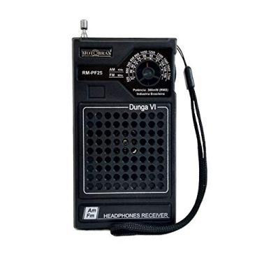 Imagem de Rádio Portátil AM/FM Dunga Gabinete de Bolso RM PF25 - MotoBras