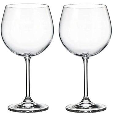 Jogo 2 Tacas Cristal Gin Tonica Bohemia Crystal 620ml