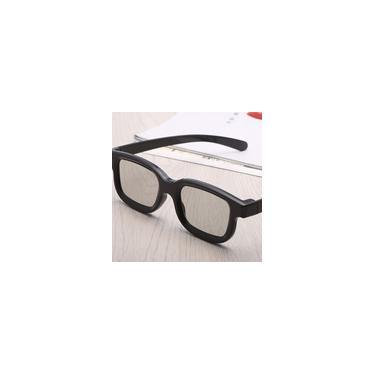 Imagem de TV 3D Cinemas Universal Unisex abs Quadro filme 3D Glasses Stereo N? O FlashTV Cinemas
