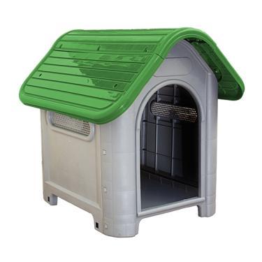 Casa Casinha de Cachorro n.3 MECPET Média Desmontável Verde