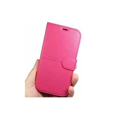 Capa Carteira Rosa Com Flip Para Asus Zenfone 3 Live Zb501KL