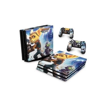 Skin Adesivo para PS4 Pro - Ratchet & Clank