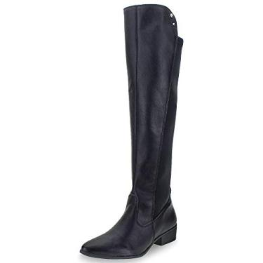 BOTA FEMININA VIA MARTE OVER KNEE REF: 19-204 NAPA LIRA