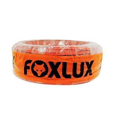 Fio Bicolor FOXLUX – 1.5 mm – 100m – Cabo Paralelo Bicolor – Tarja preta para identificação – Ideal para áudio, Multicor
