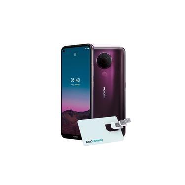 Smartphone Nokia 5.4 Roxo 128GB 4GB RAM 6.39pol 48.0MP (UW)