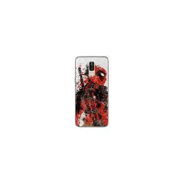 Capa para Galaxy J8 - Deadpool 1