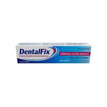 DentalFix Creme Fixador Para Dentaduras Sem Sabor 40g
