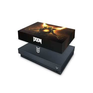 Capa Anti Poeira para Xbox One X - Doom