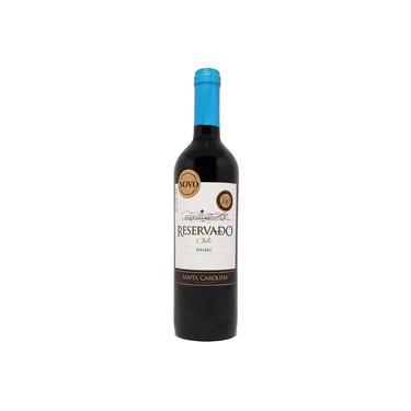 Vinho Tinto Reservado Malbec Santa Carolina - 750ml -