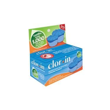 Imagem de Cloro Clorin para 1000 Litros d'Água Embalagem com 25 Pastilhas