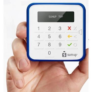 SumUp Top A Maquininha de Cartão Sem Aluguel Débito e Crédito - Blueto