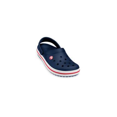 Imagem de Sandália Crocs Infantil Crocband Azul Marinho
