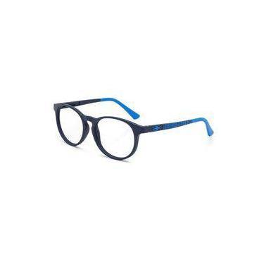 Armação Oculos Grau Infantil Mormaii Ollie Nxt M6064k8350 Azul Fosco 1771c8e927