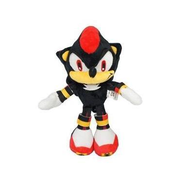 Boneco De Pelúcia Shadow Sonic The Hedgehog Pronta Entrega
