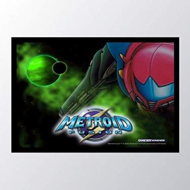 Quadro com moldura Metroid Fusion Metroid