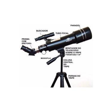Imagem de Telescopio Refrator Azimutal Tele 40070 - Greika