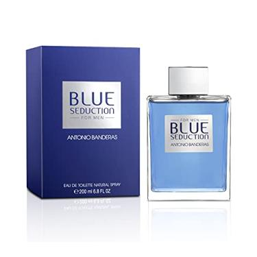 Imagem de Perfume Antonio Banderas Blue Seduction Masculino Eau de Toilette 200ml