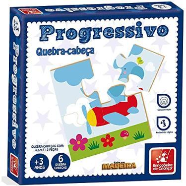Imagem de Quebra Cabeca Progressivo - Brincadeira de Criança