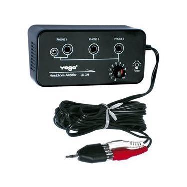Amplificador p/ Fone de Ouvido 3 Canais - JK 3 H Yoga