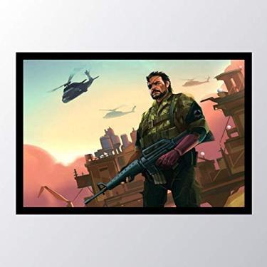 Quadro com moldura Metal Gear Solid V The_003