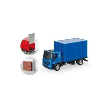 Imagem de Caminhão De Brinquedo Iveco Tector Baú C/ Acessórios - Usual