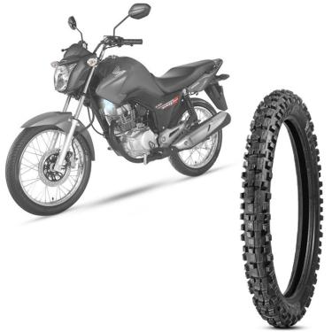 Pneu Moto Cg Fan 150 Levorin by Michelin Aro 18 2.75-18 Nhs Dianteiro Raptor