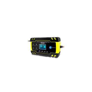 Carregador de Bateria 12V24V 6-150Ah lcd Car atv Motocicleta pulso Repair