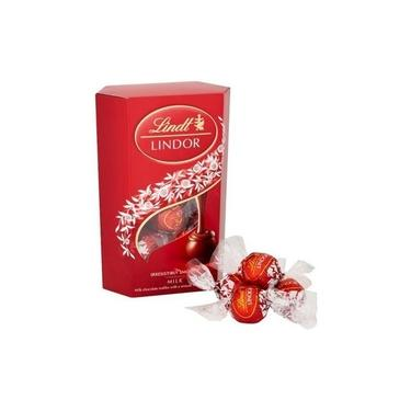 Chocolate Lindt Lindor Milk Balls Recheio Cremoso 200 g