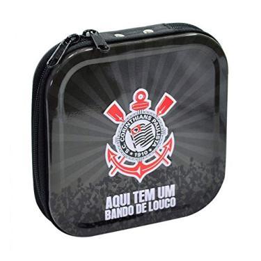 Porta Cd De Metal Corinthians Oficial