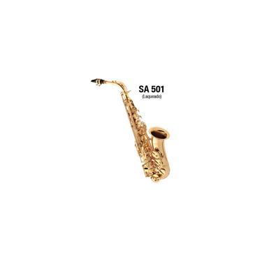 Imagem de Saxofone Alto Laqueado SA501 Eagle em Mib Com Case