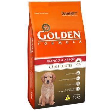 Ração Seca PremieR Pet Golden Formula Cães Filhotes Frango e Arroz - 15 Kg