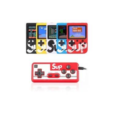 Mini Game Portátil 400 Jogos Super Console Controle Retro 4 Em 1 Duplo Play Exbom - Gc26-400