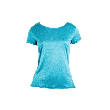 Camiseta Speedo Feminina Blend Mescla Turquesa