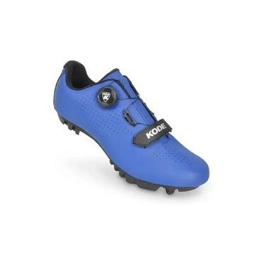 Sapatilha Kode Mtb Enduro Azul Bike Ciclismo Pedal Clip