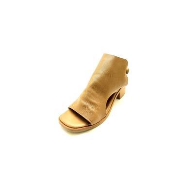 Ankle Boot Feminino Sandália Fechada Couro Dani K