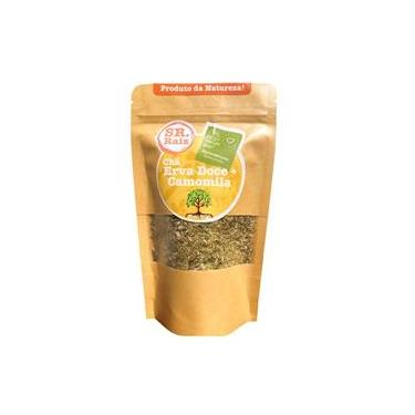 Chá Camomila Com Erva Doce Natural 50G Sr. Raiz
