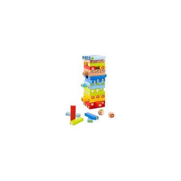 Imagem de Jogo Jenga com Animais - Tooky Toy