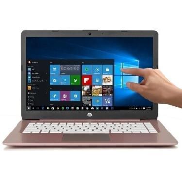 Imagem de Notebook Hp 14-ds0037 Amd A4 1.5ghz 4gb 64gb 14  Touch Pink