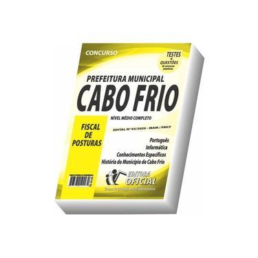 Imagem de Apostila Prefeitura De Cabo Frio - Fiscal De Posturas
