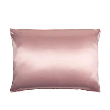 Imagem de Fronha de cetin rosa - PAR (2 UNIDADES)