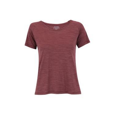 421b80394e Camiseta Oxer Bruni - Feminina - VINHO Oxer