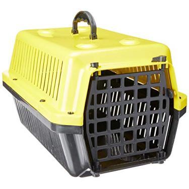 Caixa Transporte Alvorada N.1-Amarelo Alvorada para Cães