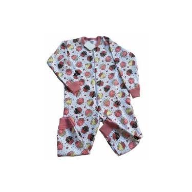pijama infantil macacão menina