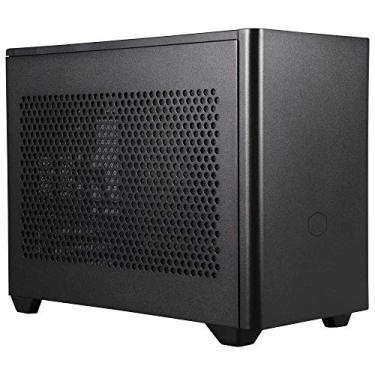 Gabinete Cooler Master MasterBox NR200 Preto SFX, Mini DTX, Mini ITX, 1 Ventoinha 120mm Superior e 1 Ventoinha Traseira 92mm sem iluminação, Suporte para Fonte SFX e SFX-L