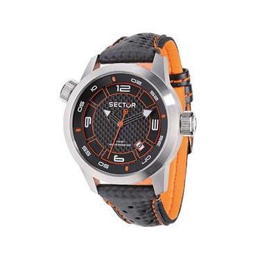 78226e2212d Relógio Masculino Analógico Sector WS30652J - Preto Laranja