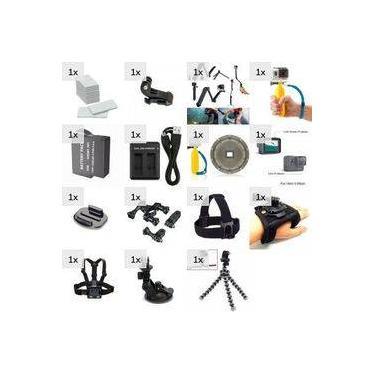 Kit Completo Para Câmeras Gopro Hero 5 6 7 Black